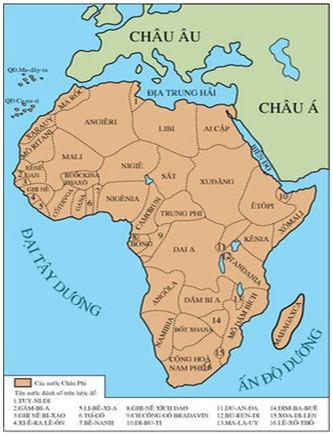 Bài 5. Các nước châu Phi và Mĩ La – tinh