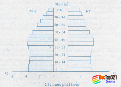 Thực hành vẽ và phân tích tháp tuổi