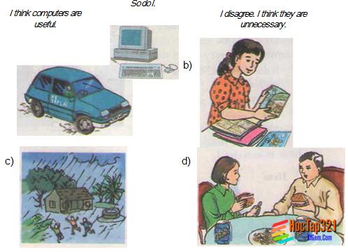 Unit 15: COMPUTERS – Máy vi tính. Hướng dẫn giải bài tập số 1, 2 trang 139 SGK Tiếng anh lớp 8 cơ bản.
