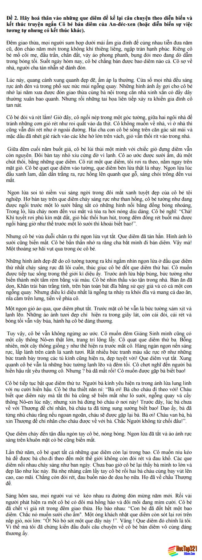 Soạn bài: Viết bài làm văn số 3: Văn tự sự