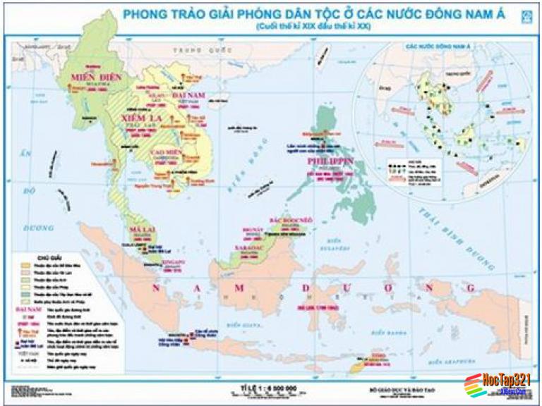 Bài 16. Các nước Đông Nam Á giữa hai cuộc chiến tranh thế giới (1918 - 1939)
