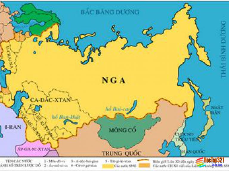 Bài 2. Liên Xô và các nước Đông Âu (1945 - 1991) Liên Bang Nga (1991 - 2000)
