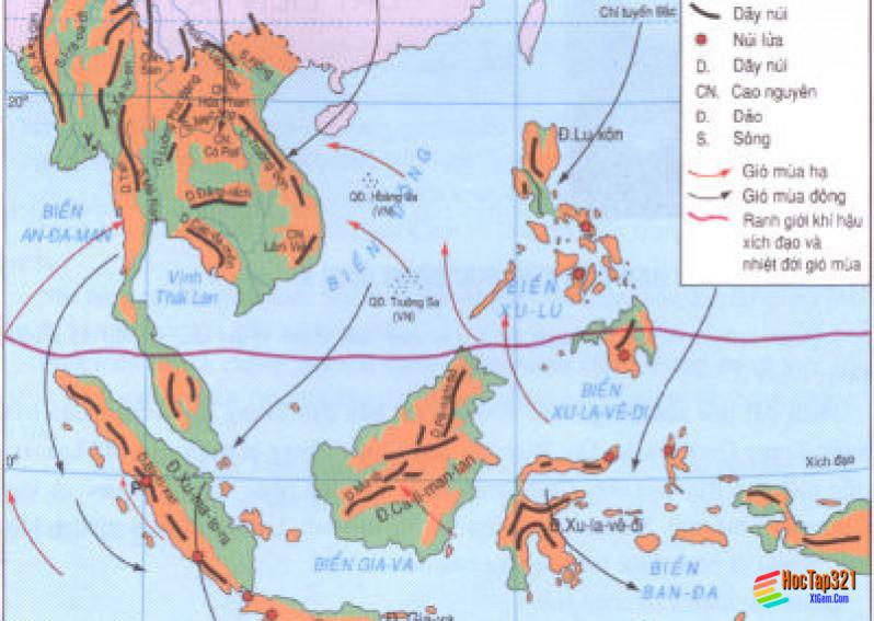 Bài 29: Đặc điểm các khu vực địa hình