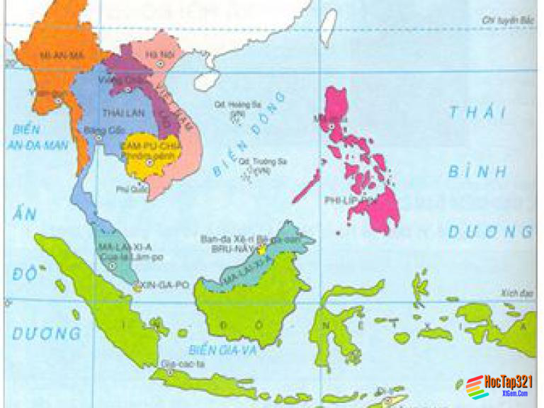 Bài 4. Các nước Đông Nam Á và Ấn Độ