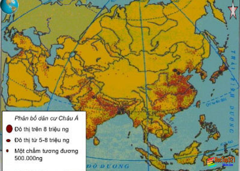 Bài 5: Đặc điểm dân cư, xã hội Châu Á