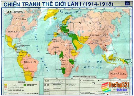 Bài 6. Chiến tranh thế giới thứ nhất (1914-1918)