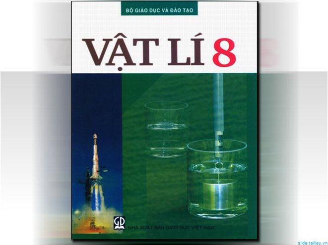 Chương I -Tiết 5 : Sự cân bằng lực – Quán tính – Hướng dẫn giải bài tập SGK Vật lí 8 từ bài C1 đến C8 – Trang 17, 18, 19