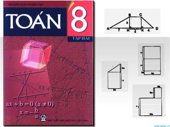 Chương III – Tiết 3 – Phần Luyện tập – Hướng dẫn giải bài tập SGK Toán 8, Tập 2 từ bài 18 đến 22 – Trang 68