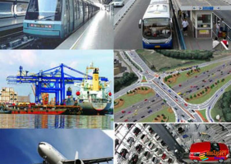 Địa lí các ngành giao thông vận tải