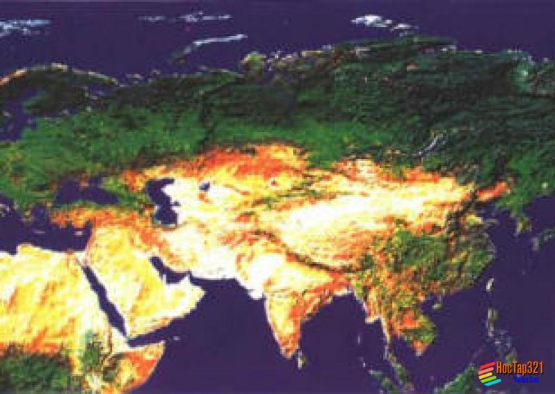 Khí hậu châu Á (Địa Lý 8)