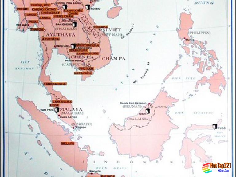 Lịch Sử 10-Bài 8 SỰ HÌNH THÀNH VÀ PHÁT TRIỂN CÁC VƯƠNG QUỐC CHÍNH Ở ĐÔNG NAM Á .