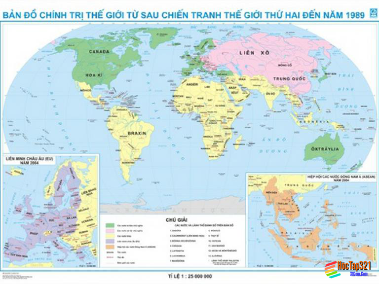 Lịch Sử 9 -Bài 11: TRẬT TỰ THẾ GIỚI MỚI SAU CHIẾN TRANH THẾ GIỚI THỨ HAI .