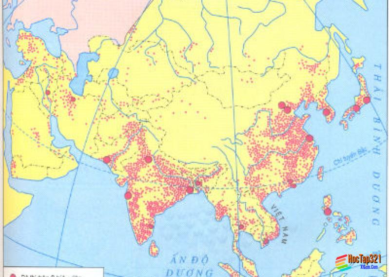Một số phương pháp biểu hiện các đối tượng địa lí trên bản đồ