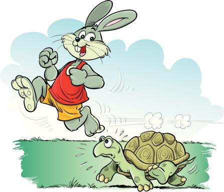 """Phân tích bài """"Thỏ và Rùa """" của La Phông-ten"""