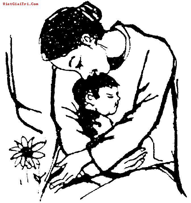 Phân tích Trong lòng mẹ để làm sáng lên phẩm chất người mẹ dịu hiền