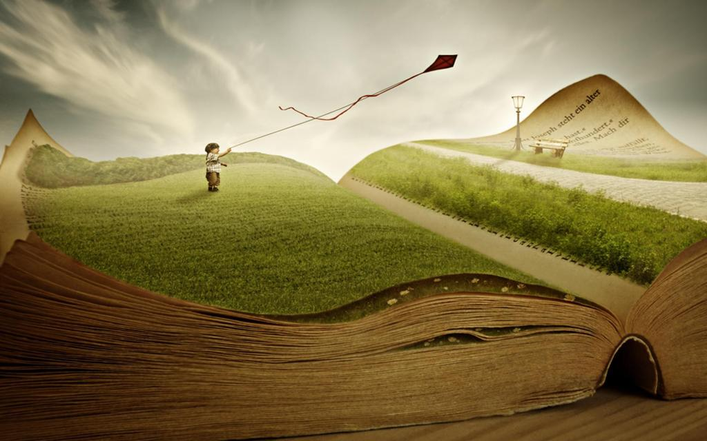 Sách mở rộng ra trước mắt tôi những chân trời mới