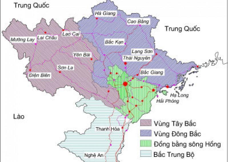 Thực hành đọc bản đồ, phân tích và đánh giá ảnh hưởng của tài nguyên khoáng sản đối với phát triển công nghiệp ở trung du và miền núi bắc bộ