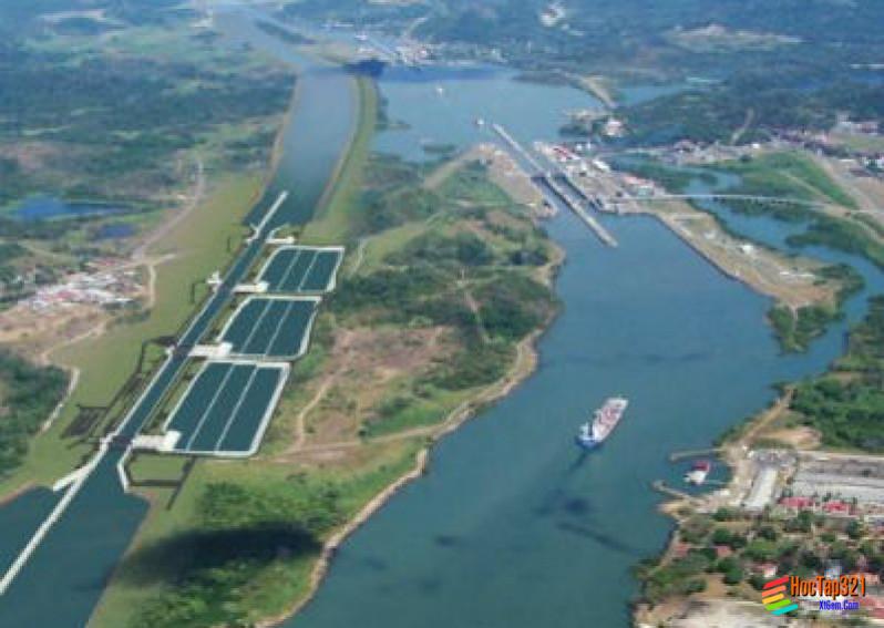 Thực hành viết báo cáo ngắn về kênh đào Xuy -Ê và kênh đào Pa-Na-Ma