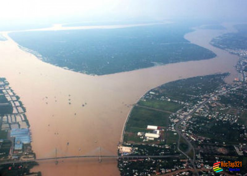 Thủy quyền Một số nhân tố ảnh hưởng tới chế độ nước sông Một số sông lớn trên trái đất