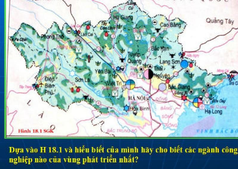 Vùng trung du và miền núi bắc bộ (địa lý 9)